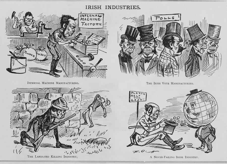 an-anti-irish-cartoon-entitled-irish-everett